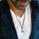 Men's Necklace - Men's Anchor Necklace - Men's Silver Necklace - Mens Jewelry