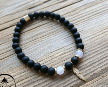 Men's Bracelet - Men's Beaded Bracelet - Men's Jewelry - Men's Gift - Boyfriend Gift