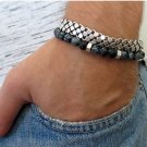 Men's Bracelet Set - Set of 2 Bracelets For Men - Men's Jewelry - Men's Gift - Boyfriend Gift