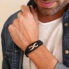 Men's Bracelet - Men's Infinity Bracelet - Men's Jewelry - Men's Gift - Boyfriend Gift