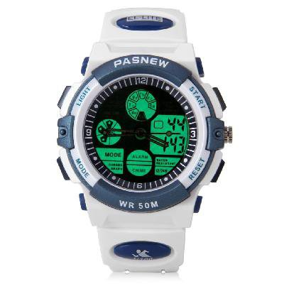 The sacred cow depth of waterproof sports watch 048 b cow multi-functional activity--white