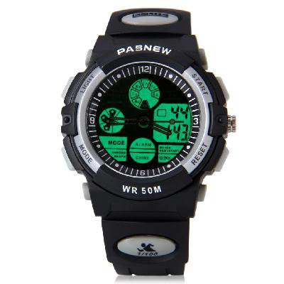The sacred cow depth of waterproof sports watch 048 b cow multi-functional activity--black