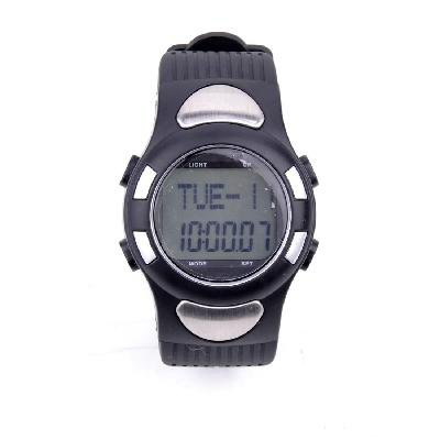 Waterproof Heart Rate Monitor with  alories& Step Counter  Sport Watch for Unisex