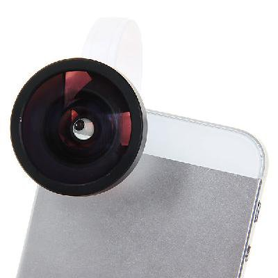 0.4X Detachable Lens for iPhone 5/4s/4, Other Mobile Phone and Digital Camera