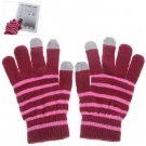 Women 3 Point Touch Gloves for iPhone 5, iPad and All Touch Screen Devices