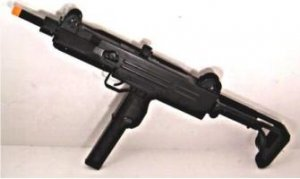 Fully Automatic D-91 Uzi Airsoft Air Soft Machine Gun Auto Electric