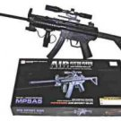 MP-5A5A Airsoft Rifle with Mock Sight Air Soft scope Semi Spring action