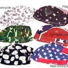 100 Percent Cotton Skull Caps - 5 Different Designs   Cool Fashion