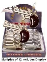 Pistol Lighter with Built In Lockback knife WOW Wholesale Prices