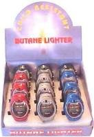 12 - Twelve - Case Display Digital Watches with Built in Cigarette Lighters
