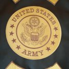 US Army Patches Set Rockers and Center Patch U.S. Army Iraq New style Combat