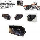 MOTORCYCLE Solo SaddleBag Swingarm SIDE BAG  For Harley Sportster Super Low