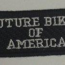 Future Biker of America Patch for Children Motorcycle biker Patches jacket vest