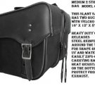 Motorcycle Saddlebags for Harley Davidson Dyna SuperGlide Zip Off  Detachable