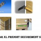 LOGISTICK LOADBAR XL Freight Securement System Trailers Containers 8 Pc 4 sets