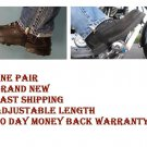Motorcycle Pant Clips Keep your pants down while you ride adjustable size pair