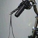 One Pair Black Leather Motorcycle Brake Clutch Lever Covers with Gel Lined black