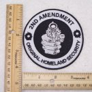 2ND AMMENDMENT ORIGINAL HOMELAND SECURITY PATCH FOR BIKER MOTORCYCLE JACKET VEST