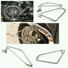 Motorcycle saddlebags Saddle Bags Brackets Set For Harley Davidson Sportster 883