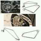 Motorcycle saddlebags Brackets For Harley Davidson Sportster Nightster set new