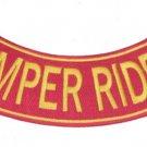 SEMPER RIDER US MARINES ROCKER BACK PATCH FOR JCKT VEST