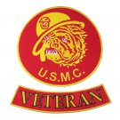 RED US MARINES CORPS  VETERAN USMC MARINES BULL DOG PATCHES FOR VEST JACKET NEW