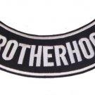 BROTHERHOOD BACK PATCH ROCKER FOR MOTORCYCLE BIKER VEST JACKET