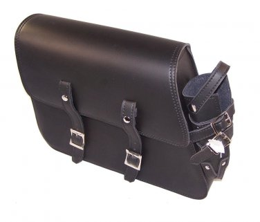 Motorcycle Leather Solo Bag saddlebag For Harley Sportster 1983 to 2004 models