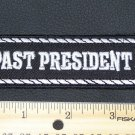 Past President Patch Badge Emblem for Biker motorcycle Club Officer Leather vest