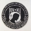 Pow Large Back Patch We Leave No One Behind Bring em Home Biker Motorcycle Patch
