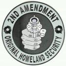 2nd Amendment patch biker motorcycle gun control original homeland Size 4 new