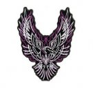 Tribal Eagle PINK White Patch 8x7 for Women's Ladies Biker vest Jacket