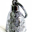 Ride Safe Motorcycle Bell to Gift a Rider Biker Guardian spirit Demon Skull