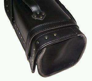 Motorcycle hard Sissy bar Bag Roll Bag  Daybag size 18x 9