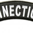 Connecticut State Rocker Patch Sml Embroidered Motorcycle Biker Vest Patch SR710