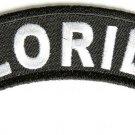 Florida State Rocker Patch Sml Embroidered Motorcycle Biker Vest Patch SR712