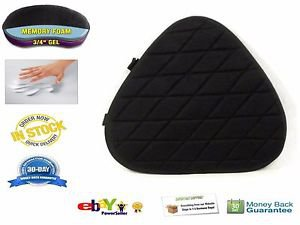 Motorcycle Gel Pad For Harley Davidson Dyna Wide Glide FXDWD Driver Seats