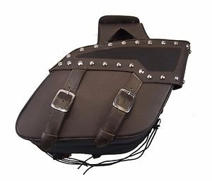 Motorcycle Saddlebag Brass Buckles Two strap with quick release buckles Shielded