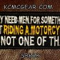 I MAY NEED MEN Small Badge for Biker Vest Jacket Motorcycle Patch