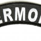 Vermont State Rocker Patch Sml Embroidered Motorcycle Biker Vest Patches SR748