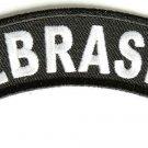 Nebraska State Rocker Patch Sml Embroidered Motorcycle Biker Vest Patch SR730