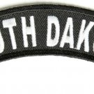 South Dakota State Rocker Patch Sml Embroidered Motorcycle Biker Vest Patches