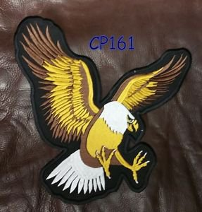 SCREAMING EAGLE Patch for Biker Motorcycle Vest Jacket Back Patches 10�