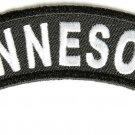 MinnesotaState Rocker Patch Sml Embroidered Motorcycle Biker Vest Patch SR726