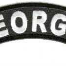 Georgia State Rocker Patch Sml Embroidered Motorcycle Biker Vest Patch SR713