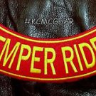 SEMPER RIDER Back Patch Bottom Rocker for Biker Veteran Vest Jacket 10""