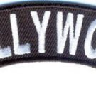 Hollywood Rocker Patch Small Embroidered Motorcycle NEW Biker Vest Patch
