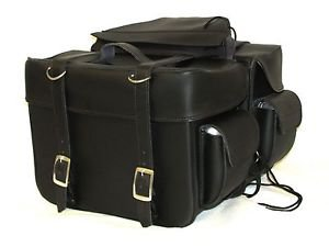 Saddlebag Zip off with End Pocket Two Strap Quick Release Buckles SAD101