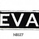 EVA Name Tag Patch Iron or sew on for Shirt Jacket Vest New BIKER Patches