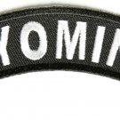 Wyoming State Rocker Patch Sml Embroidered Motorcycle Biker Vest Patches SR753